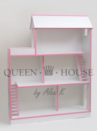 Кукольный домик.  Шикарный особняк для Барби Queen House. Черкассы. фото 1