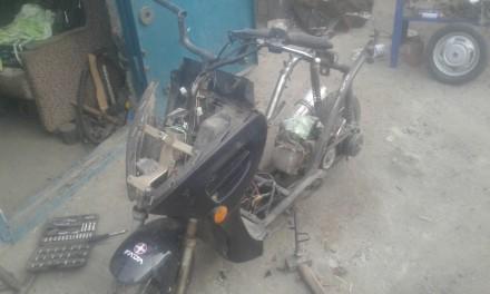 Продам скутер по запчастям. Каменка-Днепровская, Запорожская область. фото 4