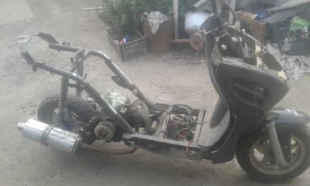 Продам скутер по запчастям. Каменка-Днепровская, Запорожская область. фото 3