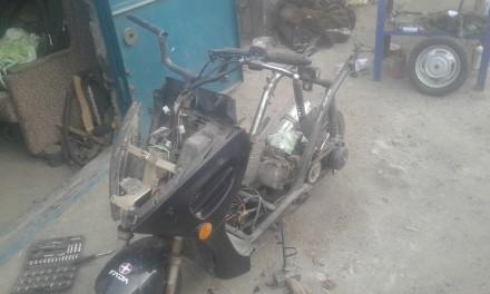 Продам скутер по запчастям. Каменка-Днепровская, Запорожская область. фото 5