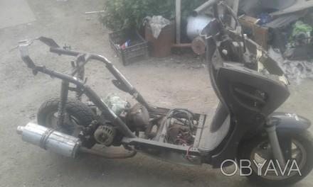 Продам скутер по запчастям. Каменка-Днепровская, Запорожская область. фото 1