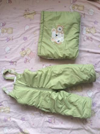 Зимовий костюм трансформер підійде дівчаткам і хлопчикам на вік від 6 місяців до. Винница, Винницкая область. фото 5