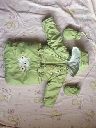 Зимовий костюм трансформер підійде дівчаткам і хлопчикам на вік від 6 місяців до. Винница, Винницкая область. фото 7