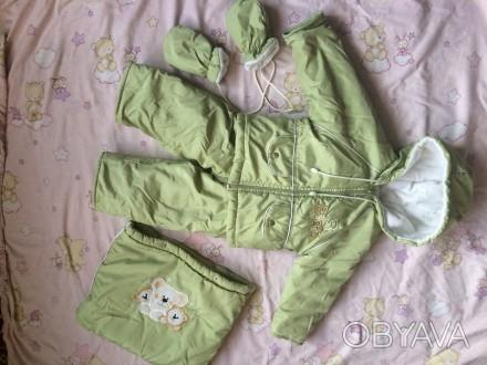 Зимовий костюм трансформер підійде дівчаткам і хлопчикам на вік від 6 місяців до. Винница, Винницкая область. фото 1