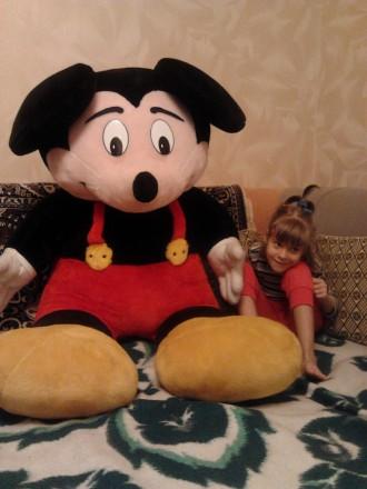 Микки Маус, большая мягкая набивная игрушка. Киев. фото 1