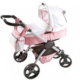 Ексклюзивна коляска Guess Jeans 2в1 рожева. Львов. фото 1