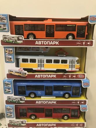 Автопарк.Трамвай.Троллейбус.Автобус.. Одесса. фото 1