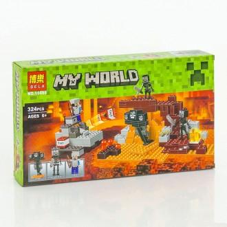 Бела Майкрофт 10469 Иссушитель конструктор Bela Minecraft My Would. Хмельницкий. фото 1