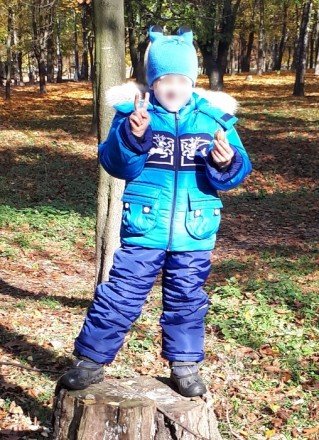 Детский зимний комбинезон для мальчика выдерживает температурный режим до -25 гр. Киев, Киевская область. фото 6
