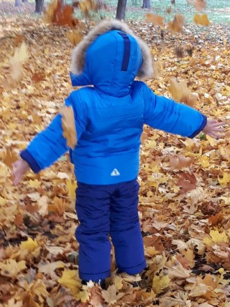 Детский зимний комбинезон для мальчика выдерживает температурный режим до -25 гр. Киев, Киевская область. фото 4