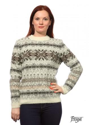 Женский свитер из исландской шерсти 01236-38. Днепр. фото 1