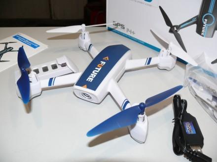 Квадрокоптер JXD-528 GPS, с камерой WiFi, автовозвратом и удержанием высоты. Харьков. фото 1