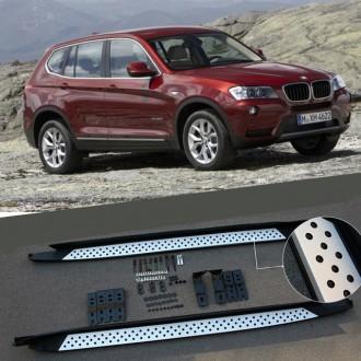 Пороги BMW X3. Одесса. фото 1