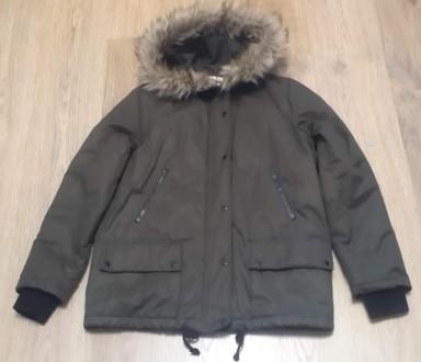 Куртка женская Mango, цвет хаки, размер S.. Одесса. фото 1