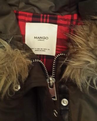 Классная курточка известного бренда Mango. Свободный покрой, застежка молния, д. Одесса, Одесская область. фото 7