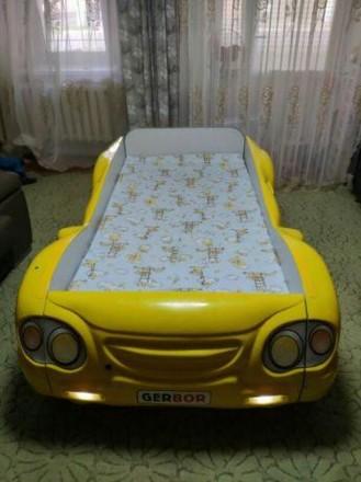 Детская кровать машинка. Херсон. фото 1
