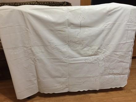 Скатерть виниловая с узорами. Хмельницкий. фото 1