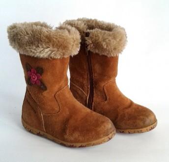Сапожки зимние детские р. 24 Walkmates от Marks & Spencer. Киев. фото 1