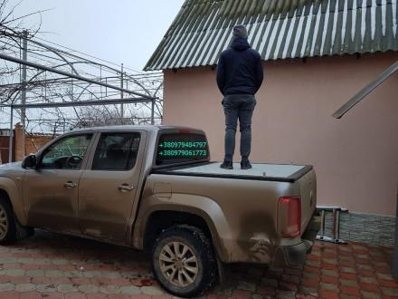 Крышка кузова пикапа, производство силовых алюминиевых крышек багажника для пика. Винница, Винницкая область. фото 13