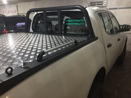 Крышка кузова пикапа, производство силовых алюминиевых крышек багажника для пика. Винница, Винницкая область. фото 10