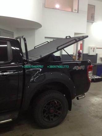 Крышка кузова пикапа, производство силовых алюминиевых крышек багажника для пика. Винница, Винницкая область. фото 11
