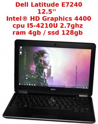 Dell Latitude E7240- i5 4210u-2.7 ghz / 4gb / ssd 128gb. Львов. фото 1