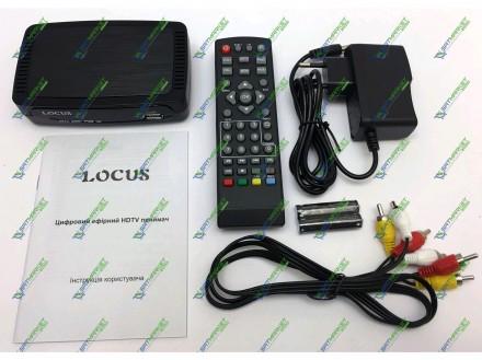 Цифровой эфирный DVB-T2 ресивер. Locus T2. Шостка. фото 1