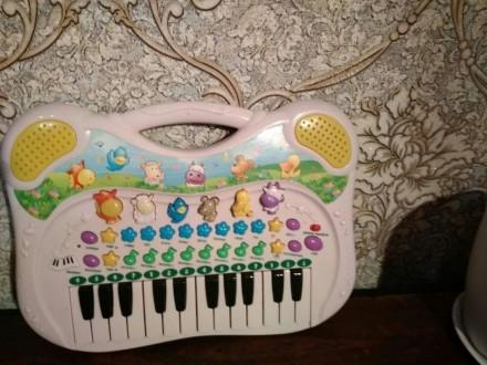 Игрушечное пианино. Ирпень. фото 1