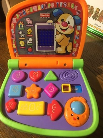 Интерактивный компьютер fisher price. Славута. фото 1