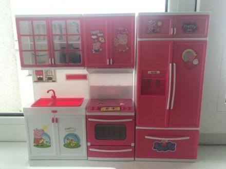 Іграшкова кухня «Свинка Пеппа» для Барбі. Ровно. фото 1
