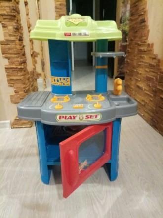 Кухня детская со звуко/световыми эффектами. Виноградов. фото 1