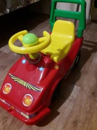 Машина - каталка, машинка детская. Доброполье. фото 1