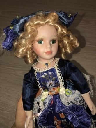 Фарфоровая кукла. Борисполь. фото 1