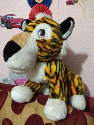 Игрушка мягкая Тигр. Краматорск. фото 1