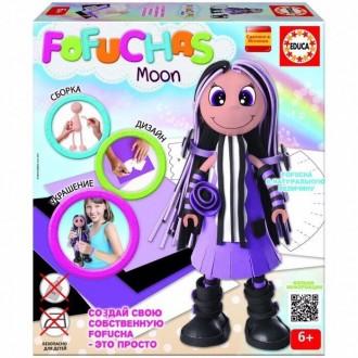 Кукла Educa Фофуча Мун набор для творчества Оригинал. Лисичанск. фото 1