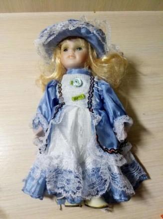 Продам фарфоровую куклу. Никополь. фото 1
