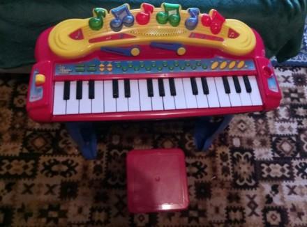детский синтезатор. Краматорск. фото 1