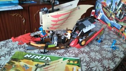 Конструктор Лего Ниндзяго Летающий Корабль. Каменское. фото 1