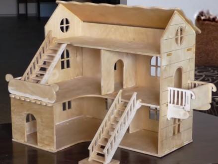 кукольный домик высота 1 метр Дом для кукол. Белая Церковь. фото 1