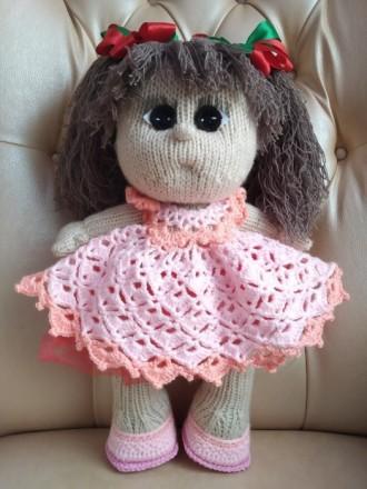 Кукла вязанная, ручная работа. Лисичанск. фото 1