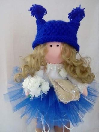 Красивая кукла ручной работи. Шостка. фото 1