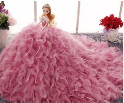 Шикарная коллекционная кукла в дизайнерском платье ручной работы.. Городок. фото 1