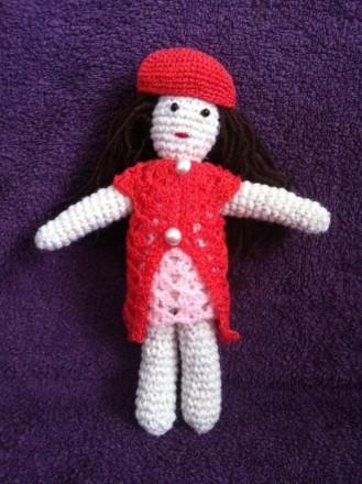 кукла Лиза, ручная работа крючком, амигуруми. Бородянка. фото 1