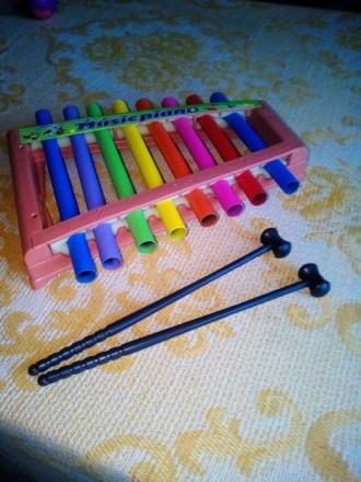 Продам детское музыкальное пианино. Лисичанск. фото 1