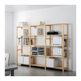 Деревянный стеллаж IKEA IVAR 178*50*259. Киев. фото 1