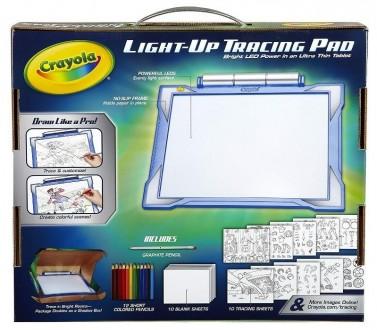 Crayola Light-up Tracing Pad. Планшет с лед подсветкой Крайола.. Краснополье. фото 1