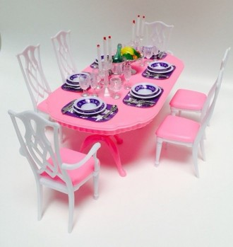 Кукольная Мебель в Домик Барби Монстер Хай Кухня Гостиная + Подарок. Киев. фото 1