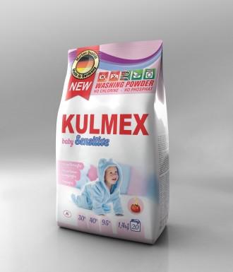 Порошок для дитячих речей KULMEX 1,4 кг.. Червоноград. фото 1
