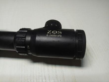 Продам оптичний приціл, привезений з Італії, з підсвіткою. Кратність від 6 до 24. Дрогобыч, Львовская область. фото 3
