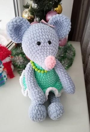ᐈ вязаные игрушки ручной работы зайчик мишка лисичка и др Handmade